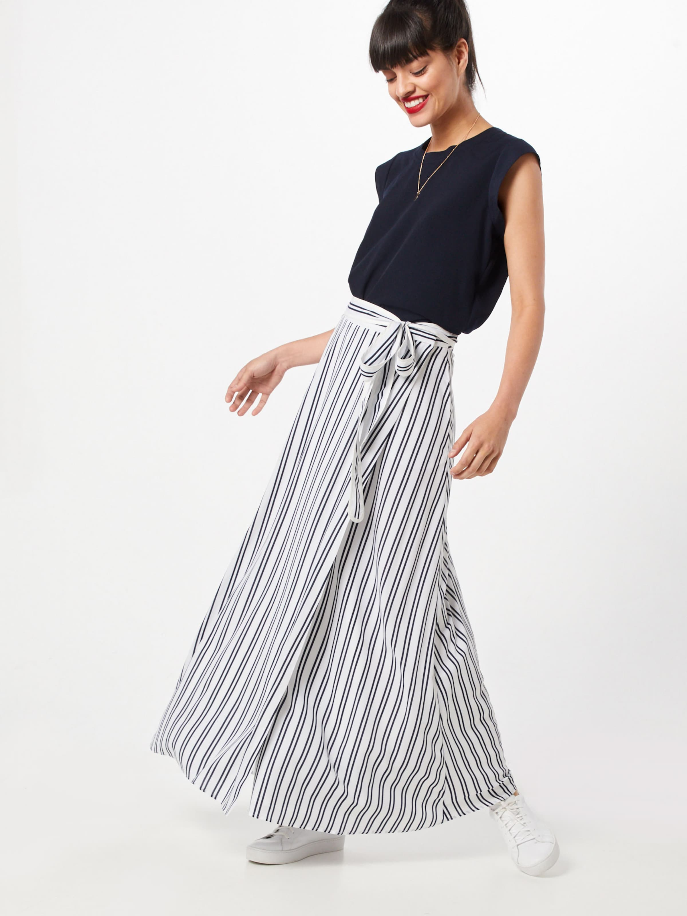 'i Rock Banana In Maxi Skirt' SchwarzWeiß Republic Striped shdCxtQr