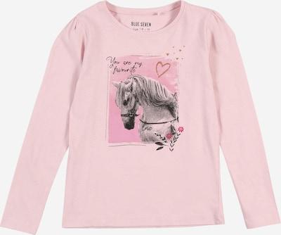 BLUE SEVEN Shirt in pink / rosa / schwarz, Produktansicht