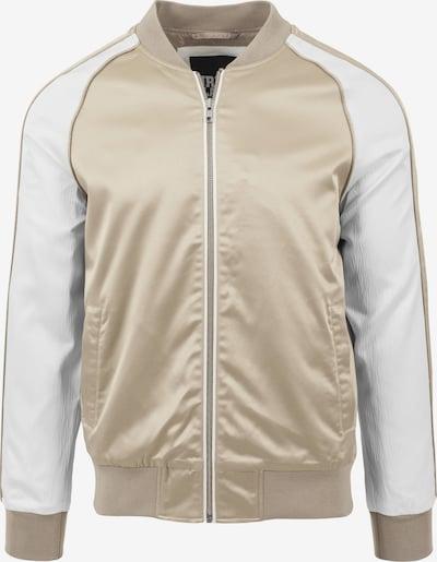 Urban Classics Jacke in gold / weiß, Produktansicht