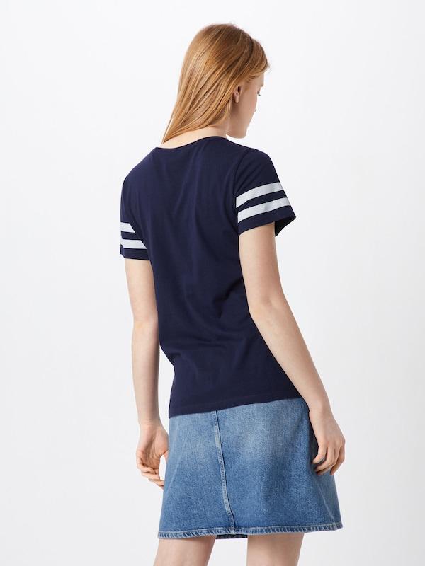 Bleu shirt En T Marine Gap clK1FuT3J