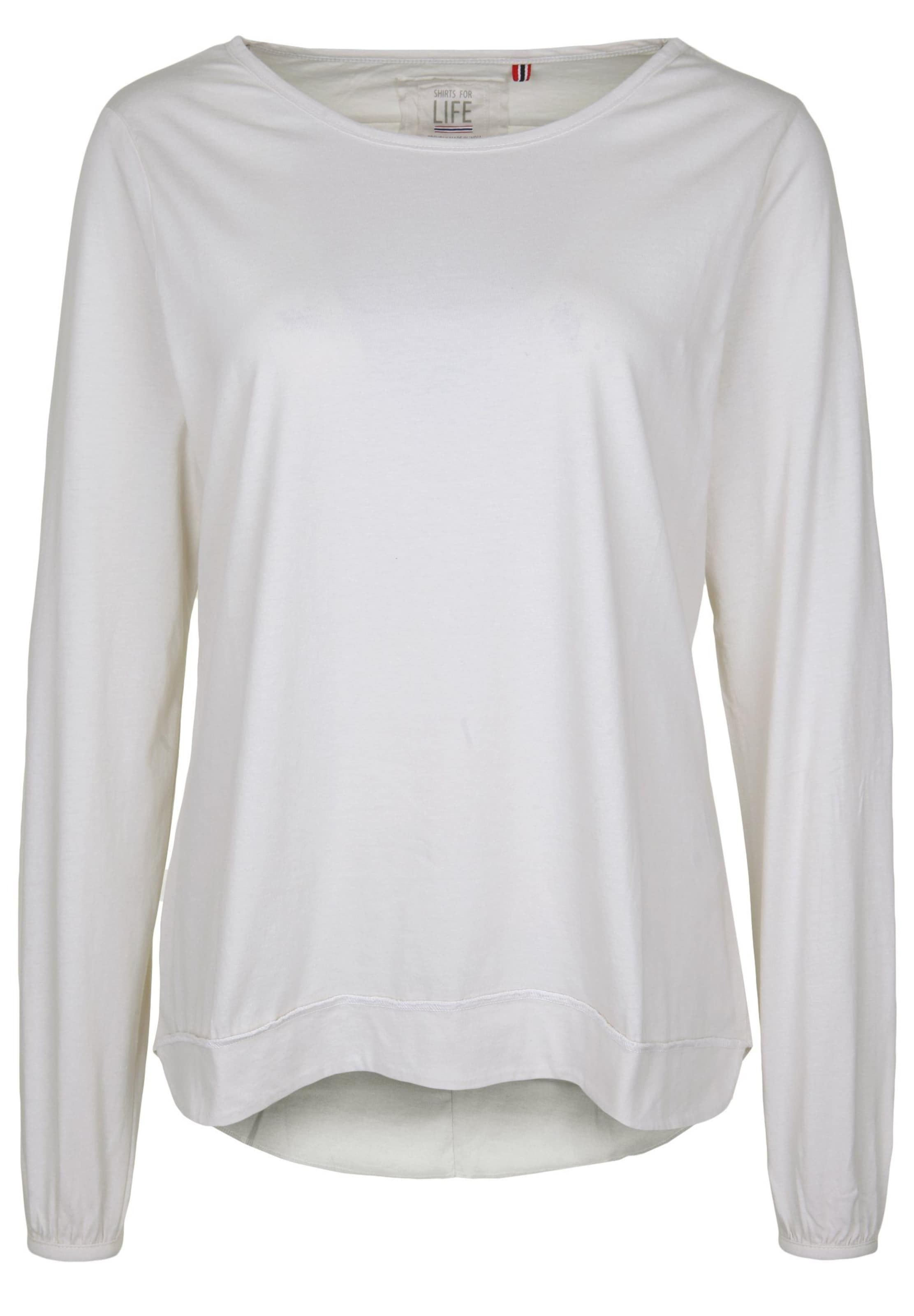 Womens Weiß Longsleeve For 'carina' Shirts Life In dCexoWBr