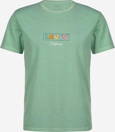 LEVI'S T-Shirt 'Boxtab Graphic' in mint / mischfarben, Produktansicht