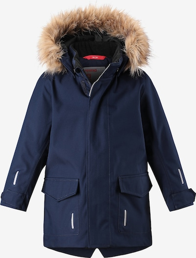 Reima Winterjacke 'Myre' in blau / weiß, Produktansicht