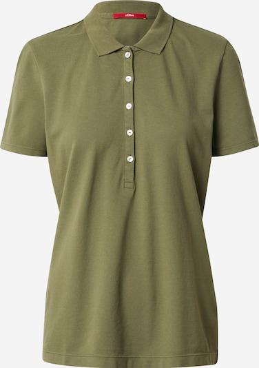 s.Oliver Poloshirt' in oliv, Produktansicht