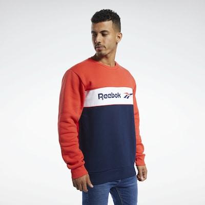Reebok Classic Sweatshirt in de kleur Enziaan / Roestrood: Vooraanzicht