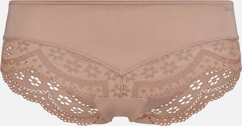 Skiny Panty Nature Love mit recycelter Spitze in beige, Produktansicht