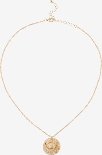 ABOUT YOU Ketting 'Cancer Zodiac' in de kleur Goud, Productweergave