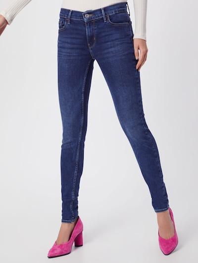 LEVI'S Jean '710 INNOVATION SUPER SKINNY' en bleu denim: Vue de face