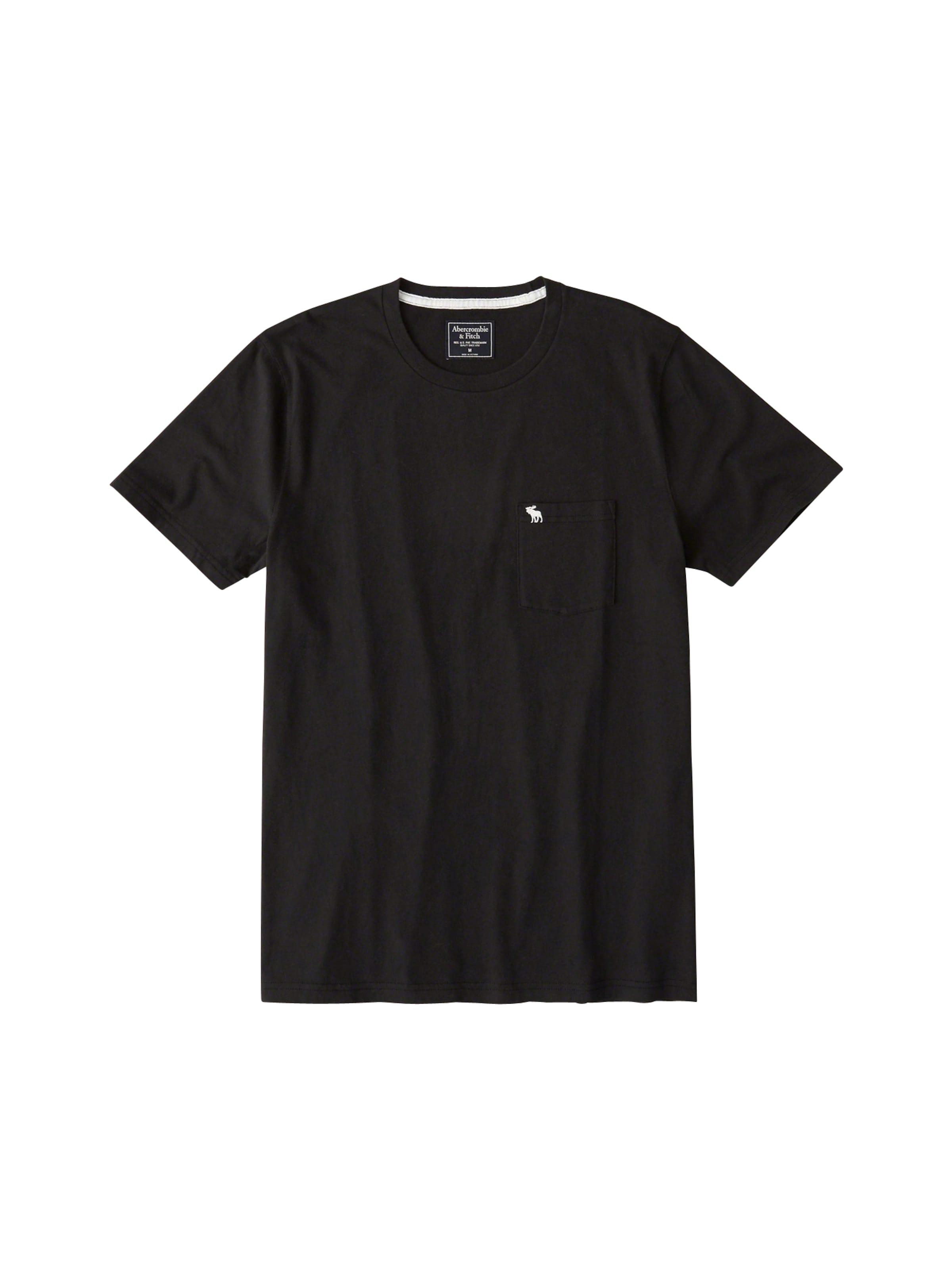 T Abercrombieamp; En Fitch shirt Noir 'crew Neutral' IfY7gb6vym