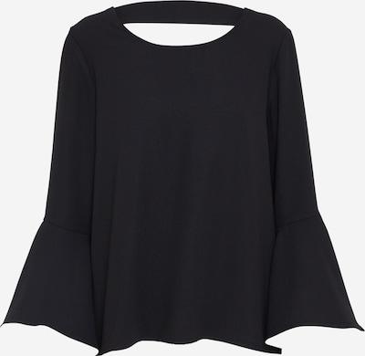 Bardot Bluse 'FLUTE' in schwarz: Frontalansicht