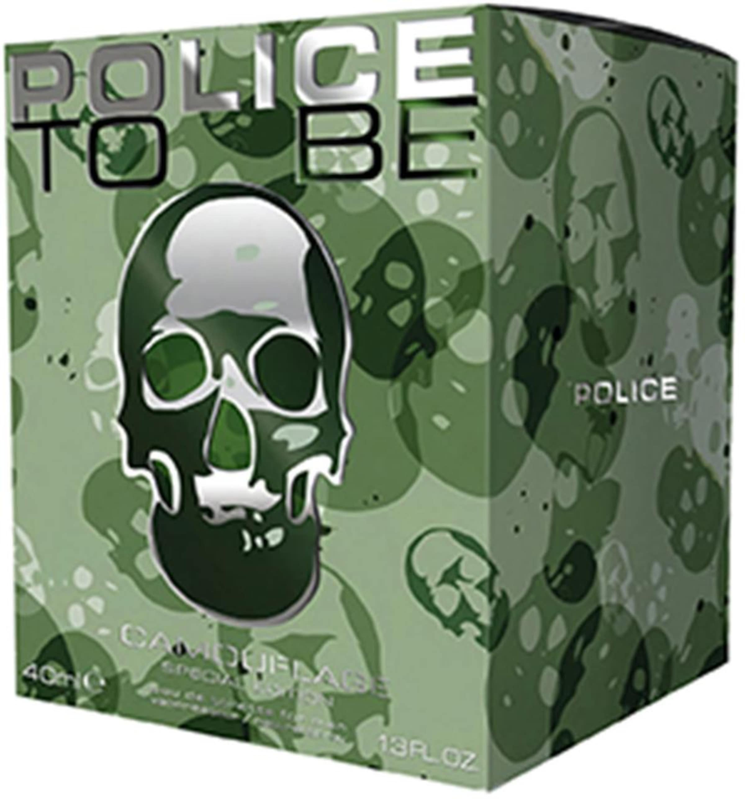 Grasgrün De Toilette Police Camouflage' Eau 'to Be In UVSpqzMG