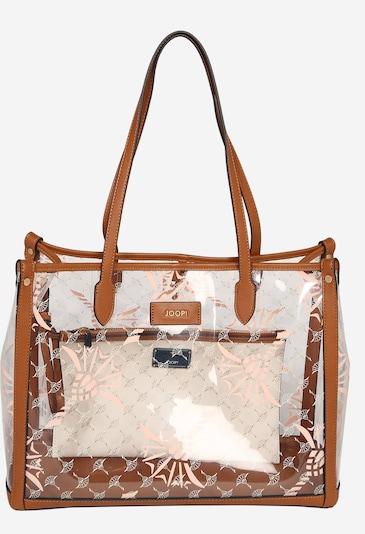 JOOP! Shopper 'Cristallino Lelia' in kupfer / offwhite, Produktansicht