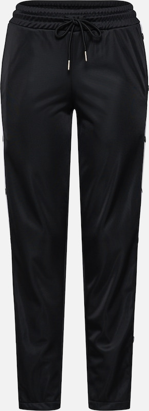 'ladies Up' Button Urban Classics En Pantalon NoirBlanc ARL3j5q4