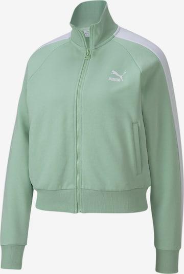 PUMA Sportjas 'Classics T7' in de kleur Mintgroen, Productweergave