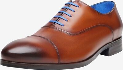 SHOEPASSION Businessschuhe durchgenäht 'No. 5571 BL' in cognac, Produktansicht