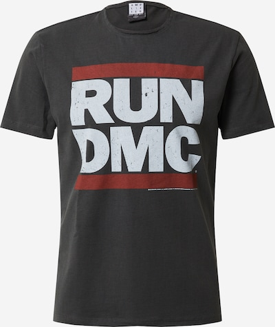 AMPLIFIED Shirt 'RUN DMC' in dunkelgrau, Produktansicht
