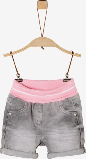 s.Oliver Shorts in grey denim, Produktansicht