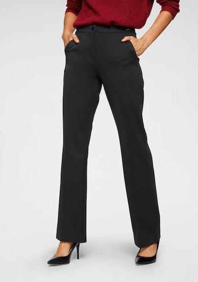 BRUNO BANANI Hose in schwarz, Modelansicht