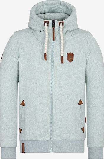 naketano Sweatjacke in mint, Produktansicht