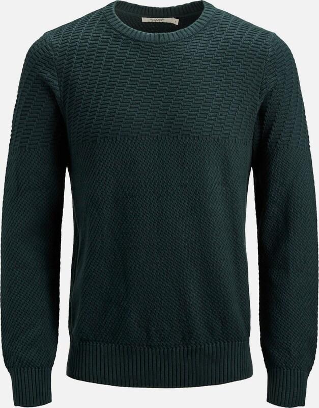 JACK & JONES Strickpullover in dunkelgrün  Mode neue Kleidung
