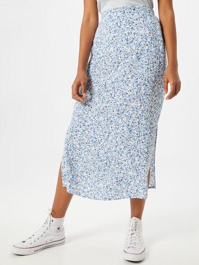 Cotton On Sukně '90Ss' - modrá / bílá: Pohled zepředu