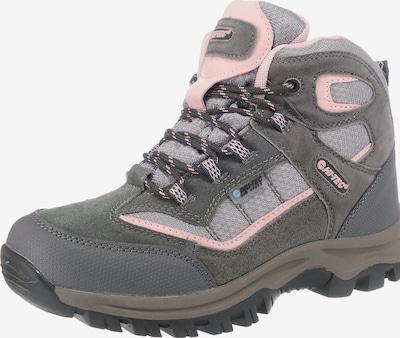 HI-TEC Outdooeschuhe 'Hillside' in grau / khaki / rosa, Produktansicht