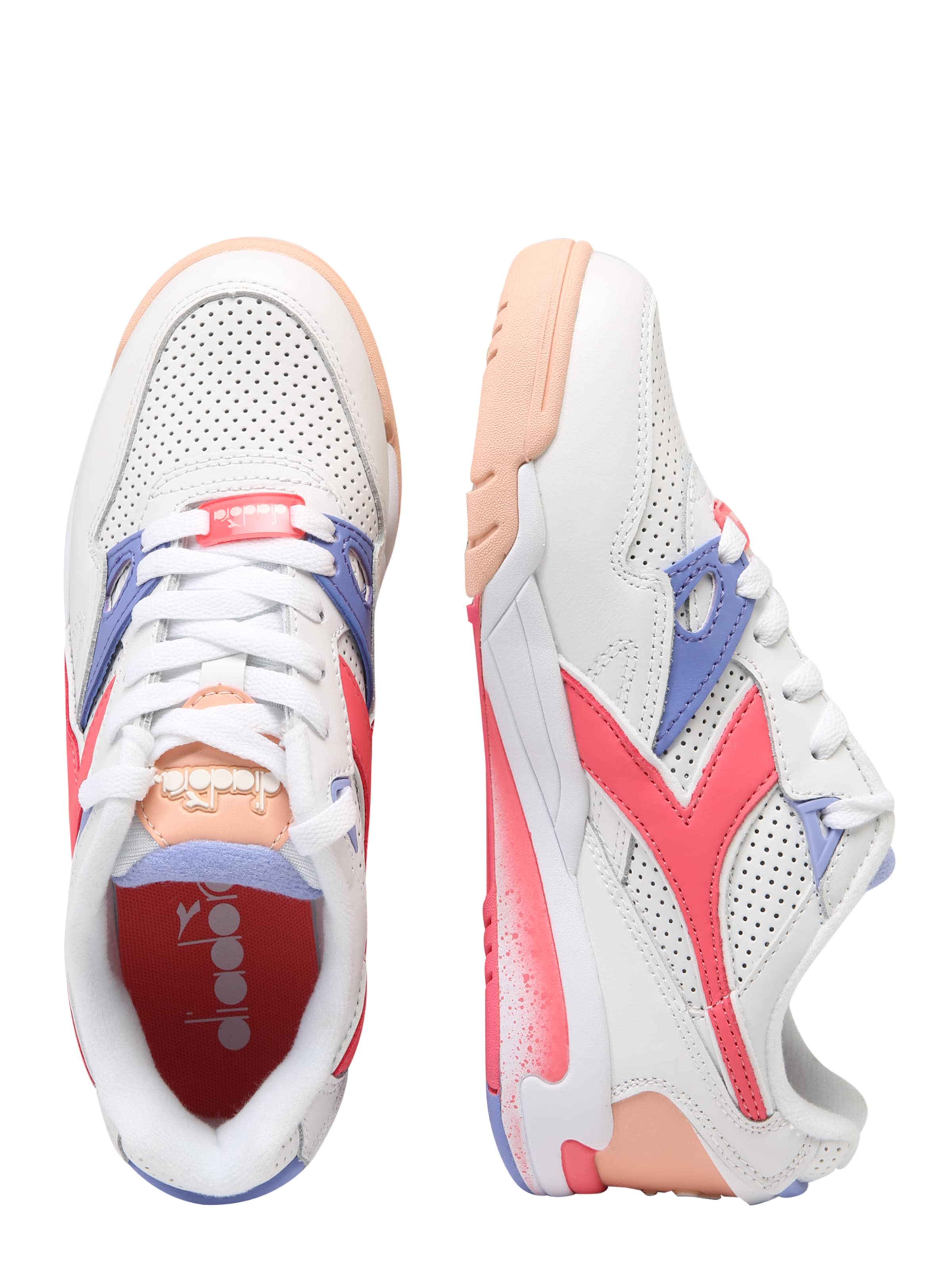 'rebound Weiß In Diadora Ace' Sneaker LilaPink QBCrdxoeW
