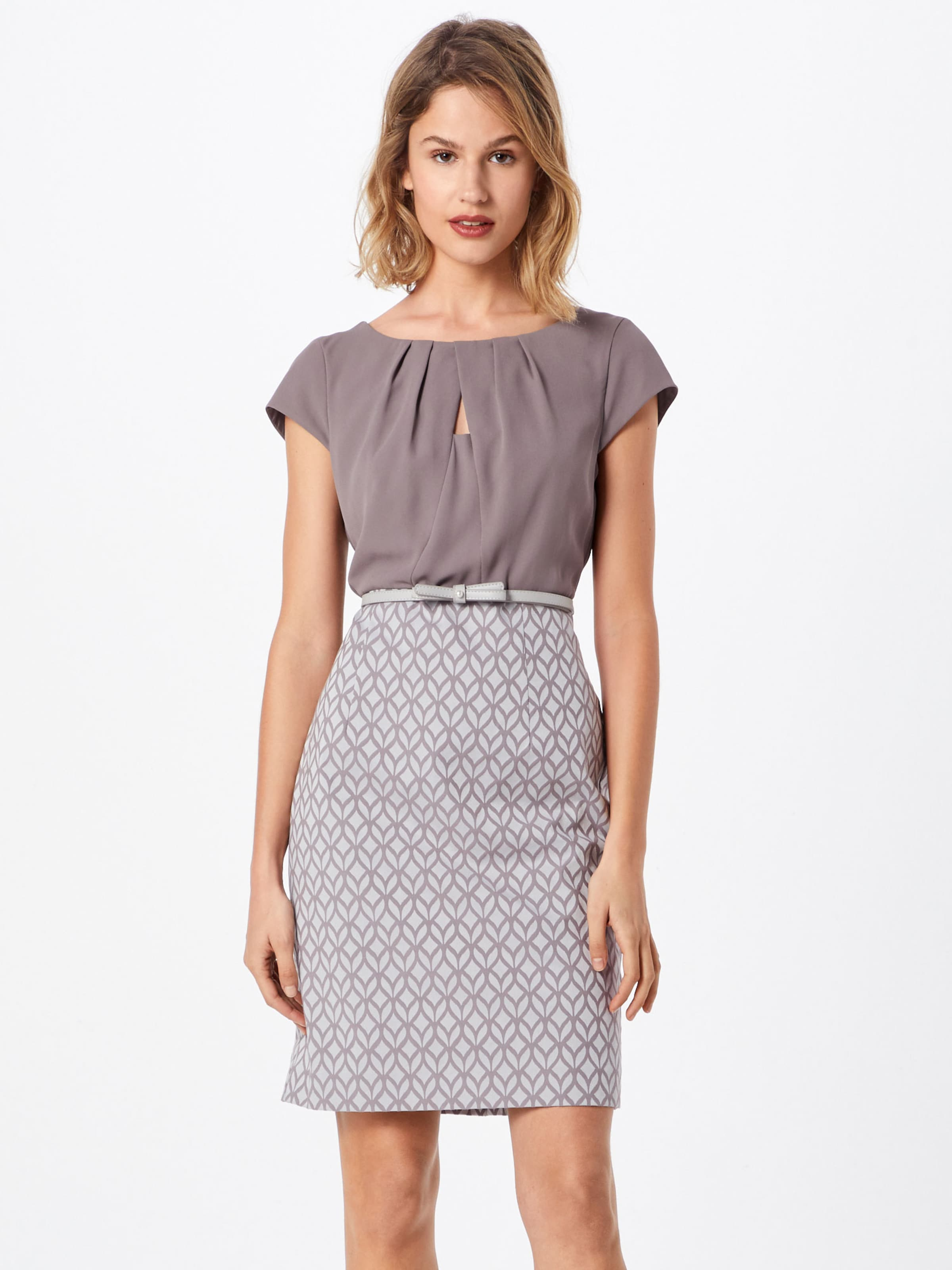 Taupe In Kleid Kleid Comma Comma D9IYbWEHe2
