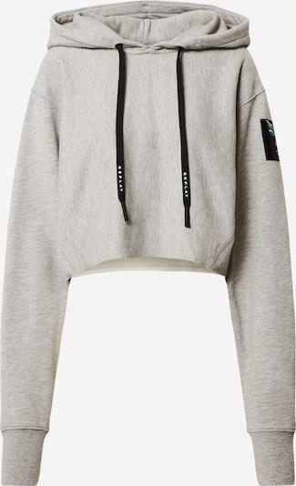 REPLAY Sweatshirt in graumeliert / schwarz, Produktansicht