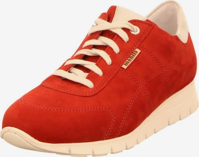 MOBILSergonomic Sneaker in dunkelrot / weiß, Produktansicht
