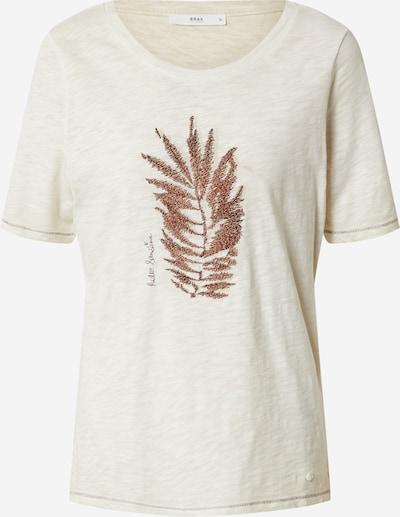 BRAX Shirt in hellbraun, Produktansicht