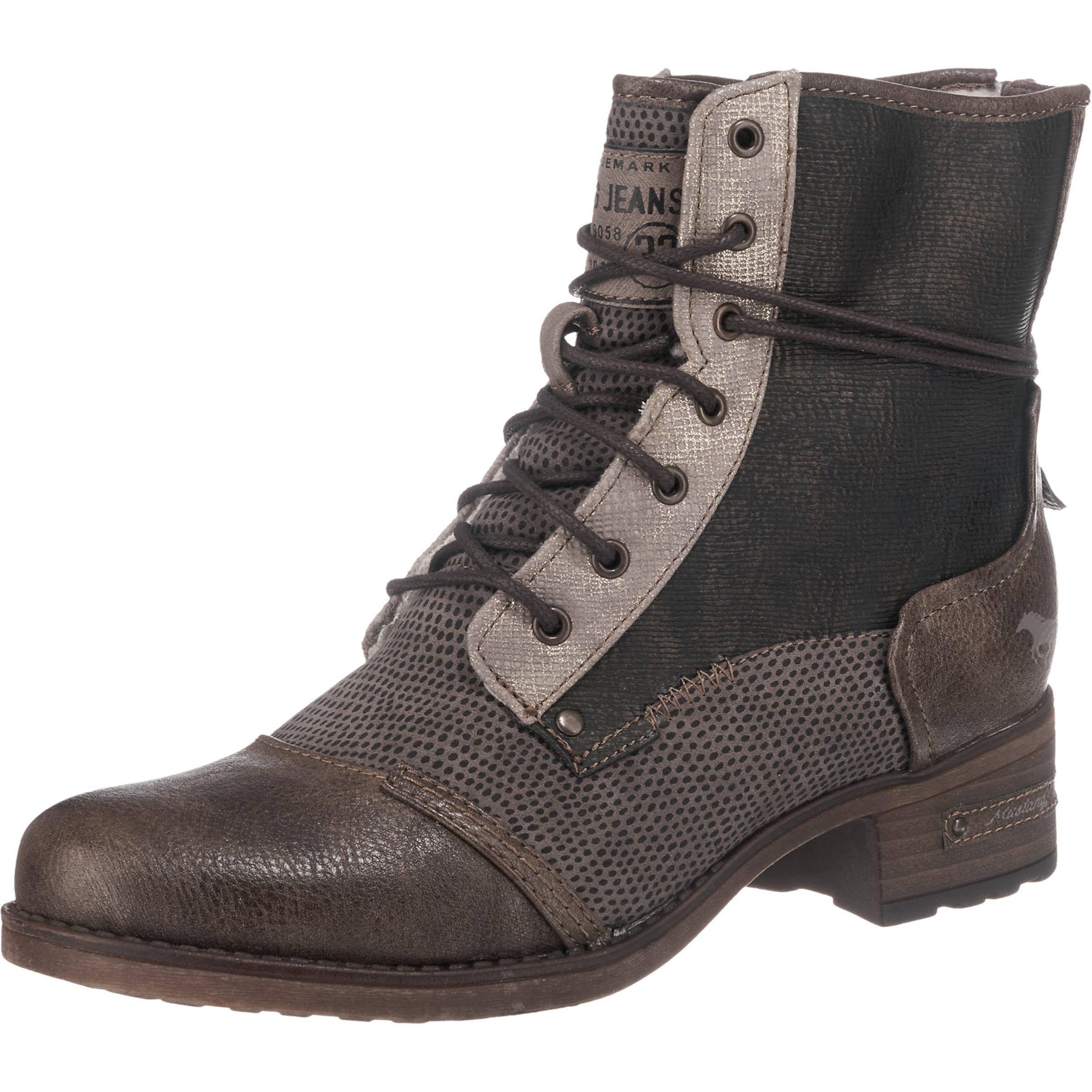 MUSTANG Shoes Schnürboots Verschleißfeste billige Schuhe