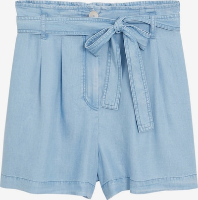 MANGO Pantalon à pince 'Smart' en bleu ciel, Vue avec produit