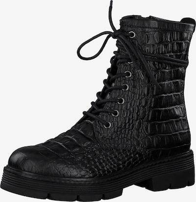 Suvarstomieji kulkšnis dengiantys batai iš MARCO TOZZI , spalva - juoda, Prekių apžvalga