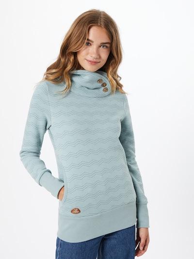 Ragwear Sweatshirt in kobaltblau / opal: Frontalansicht