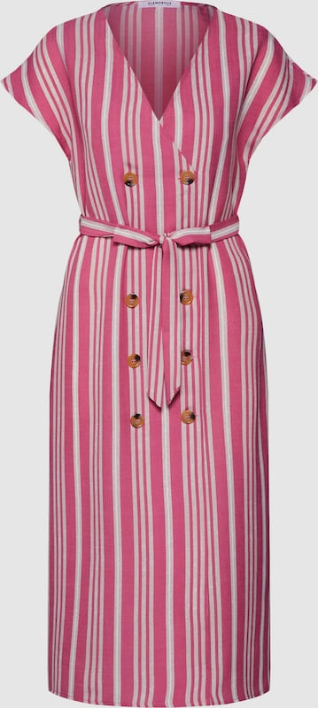 GLAMGoldUS Kleid 'EA0106' in Rosa  Neuer Aktionsrabatt