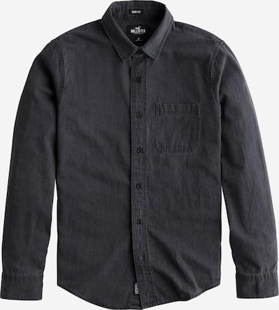 HOLLISTER Hemden 'LS DENIM' in black denim, Produktansicht