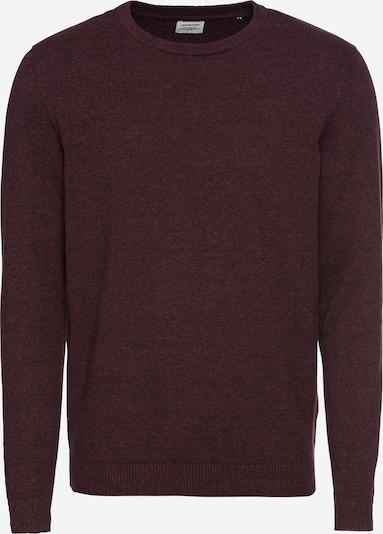 JACK & JONES Pullover in weinrot, Produktansicht