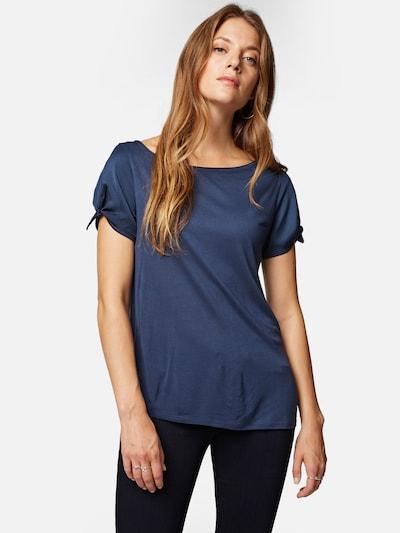 Mavi Shirt in blau, Modelansicht