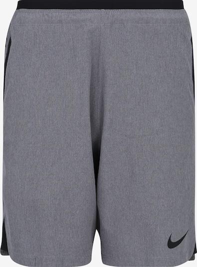 NIKE Spodnie sportowe 'FLEX REPEL NPC' w kolorze nakrapiany szary / czarnym, Podgląd produktu