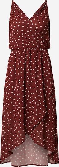 CATWALK JUNKIE Sukienka w kolorze rdzawoczerwony / białym, Podgląd produktu