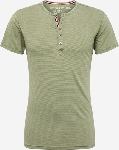 Key Largo Shirt 'DIETER' in grün, Produktansicht