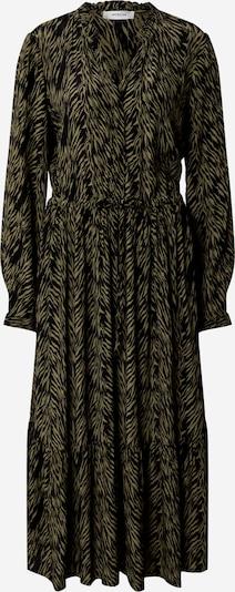 MOSS COPENHAGEN Košulja haljina 'Calie Morocco' u brokat / crna, Pregled proizvoda