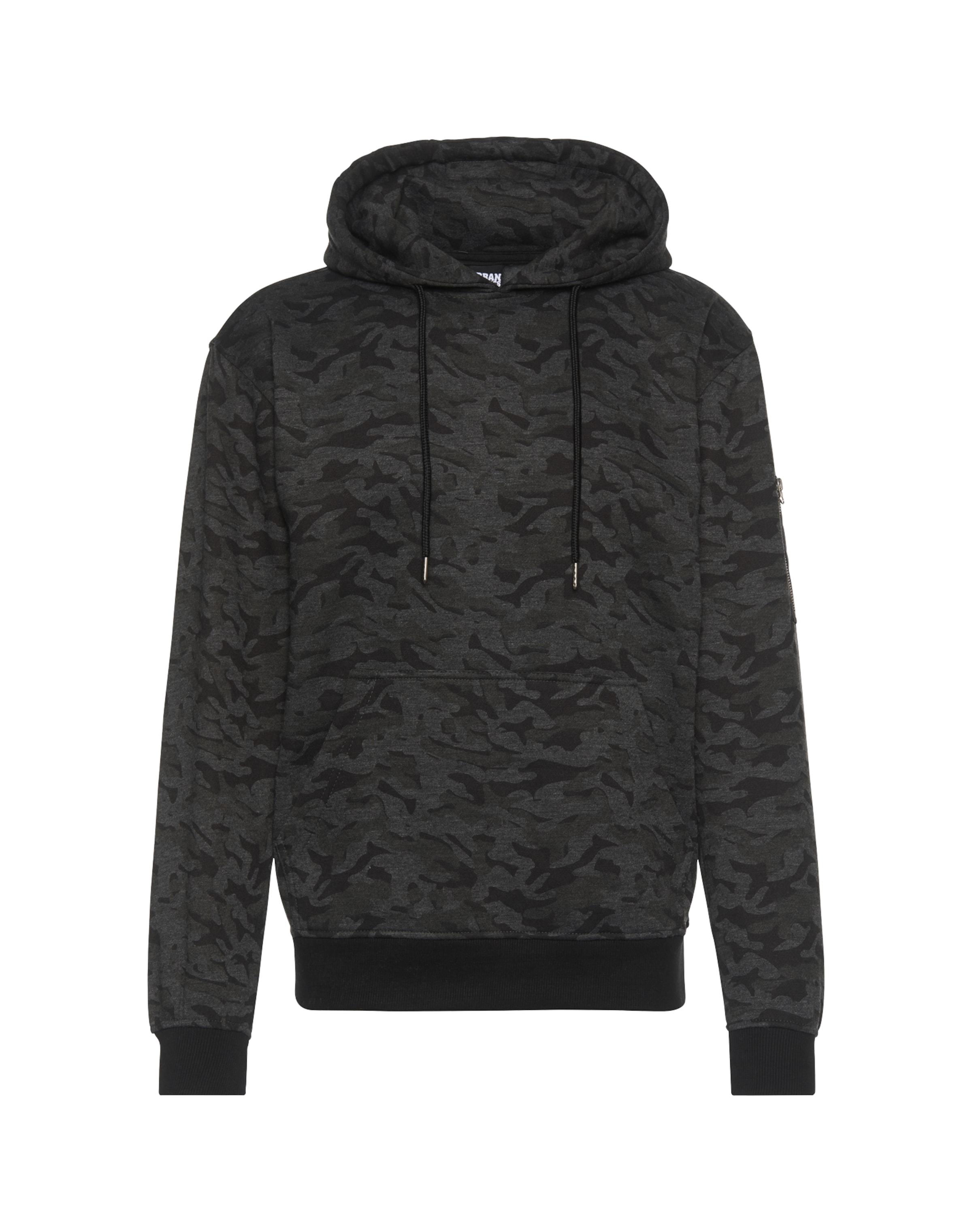 'sweat Classics Sweatshirt DunkelgrauSchwarz Camo Bomber Hoody' Urban In H2eIYE9WD