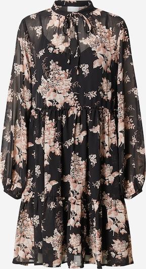 Suknelė 'VITULLAN L/S FLOWER DRESS /RX' iš VILA , spalva - juoda, Prekių apžvalga