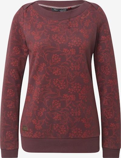 Ragwear Sweater majica 'TASHI' u crvena / tamno crvena, Pregled proizvoda