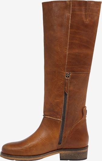 Auliniai batai su kulniuku 'Kathleen 2.0' iš HUB , spalva - ruda (konjako): Vaizdas iš šono