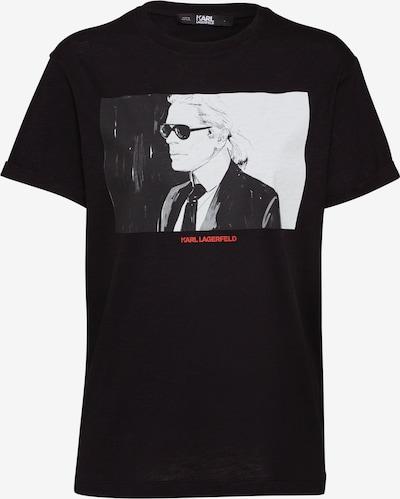 Karl Lagerfeld Shirt 'karl legend' in schwarz, Produktansicht