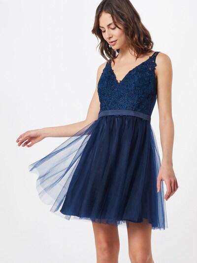 Laona Kleid in nachtblau, Modelansicht