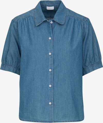 SEIDENSTICKER Hemdbluse 'Schwarze Rose' in blue denim, Produktansicht